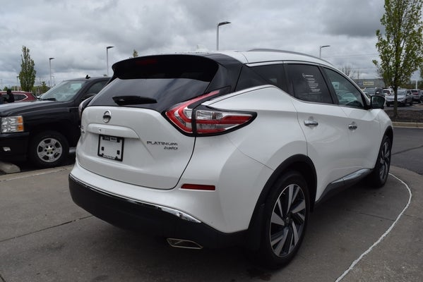 2018 nissan murano platinum for sale avon in andy mohr. Black Bedroom Furniture Sets. Home Design Ideas